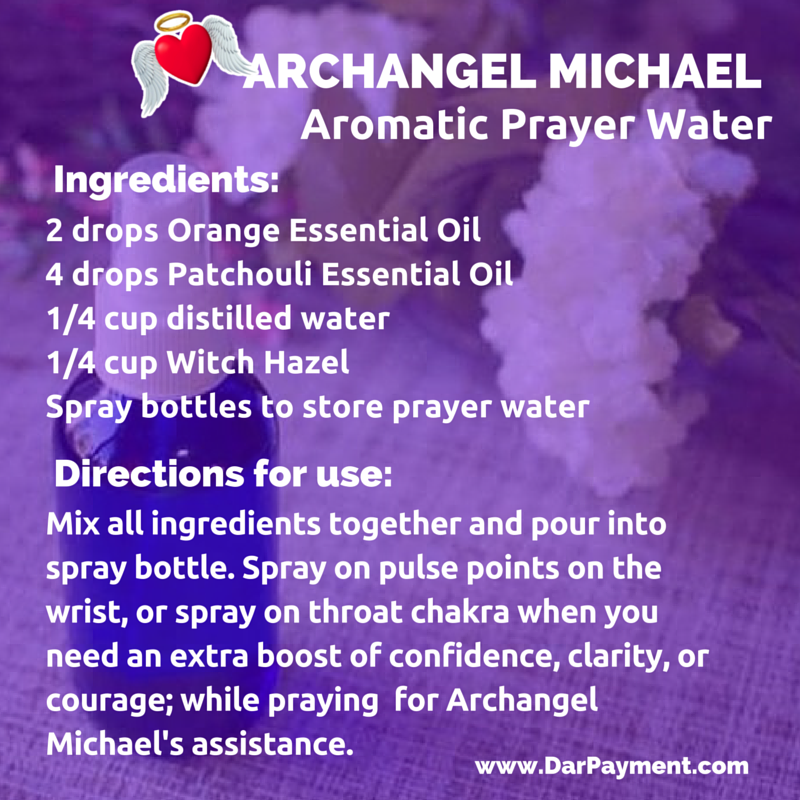 Archangel Michael Aromatic Prayer Water - Dar Payment